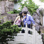 Snug Harbor Botanical Garden Engagement