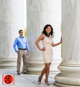 Kimberly and David Engagement - Washington DC