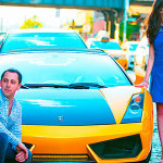 Lamborghini Engagement Photos