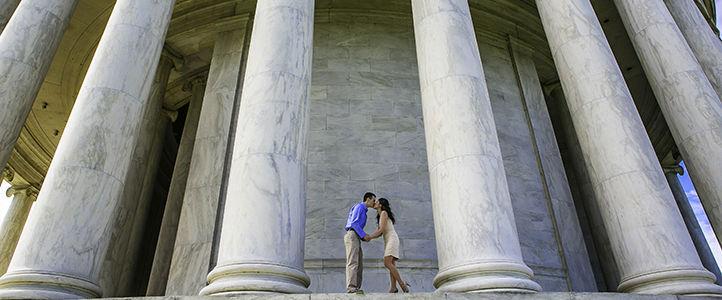 Kimberly and David Engagement Photos - Washington DC